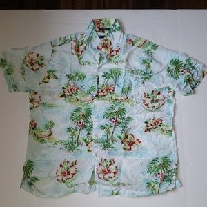 Cremiux Classics xl Button down shirt Hawaiian